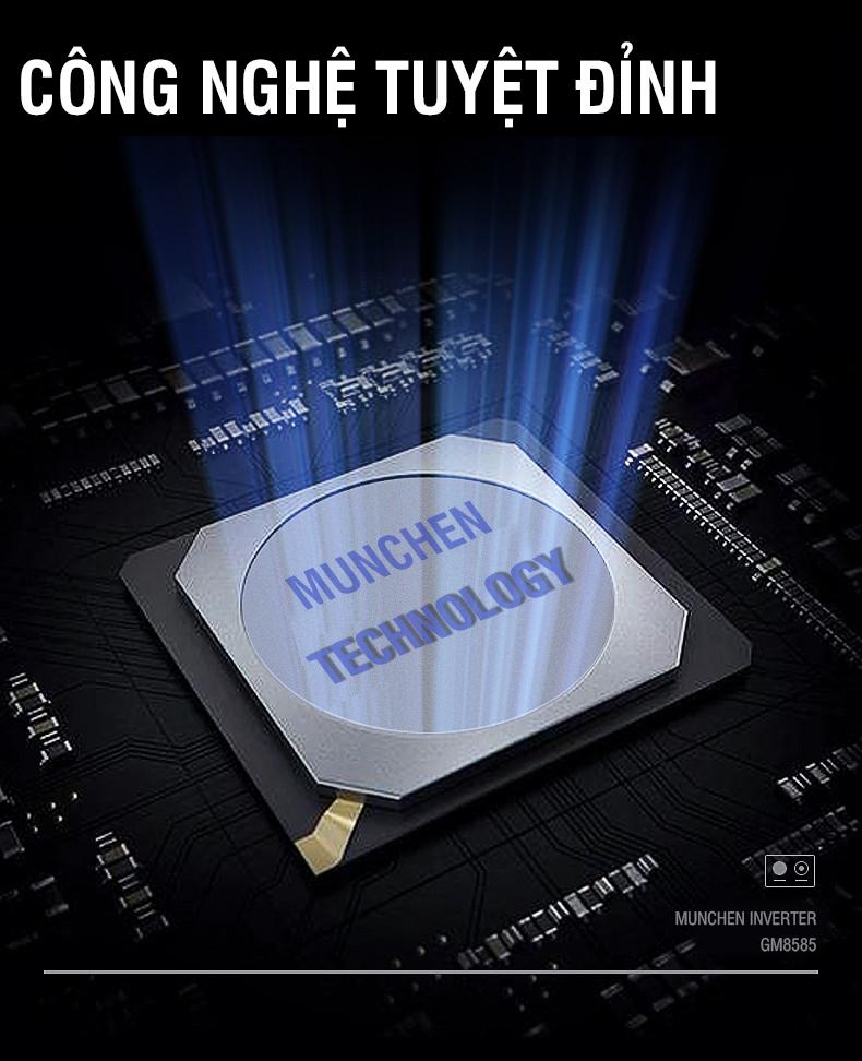 Công nghệ inverter tiết kiệm đỉnh