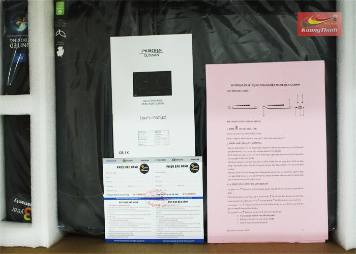 Hướng dẫn sử dụng bếp từ Munchen GM 8999