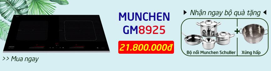 khuyến mãi bếp từ munchen gm 8925