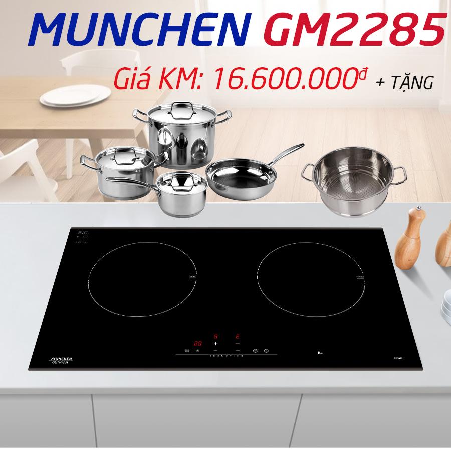 Khuyến mãi bếp từ Munchen gm 2285