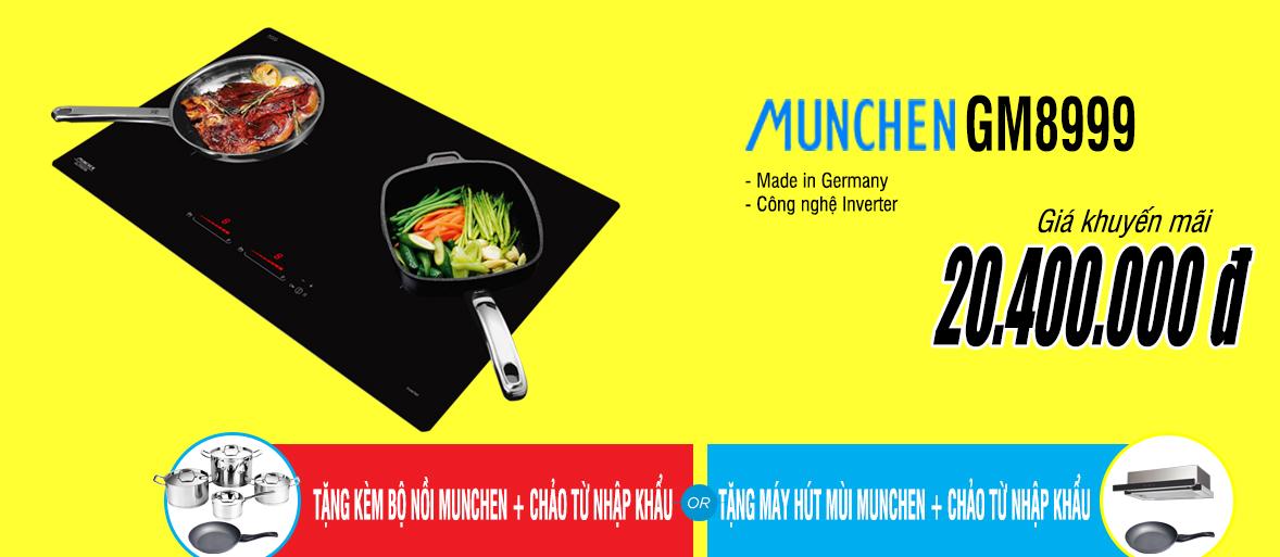 khuyến mãi bếp từ munchen gm8999