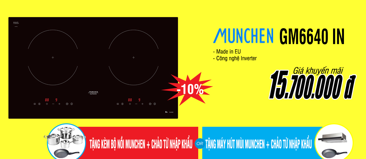 khuyến mãi bếp từ munchen Gm6640 in
