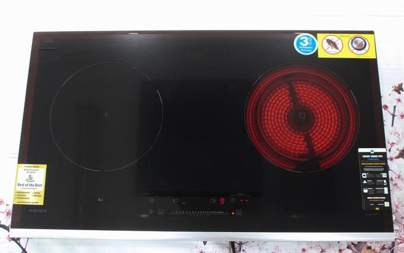 Trải nghiệm lần đầu sử dụng Bếp điện từ Munchen GM6629S