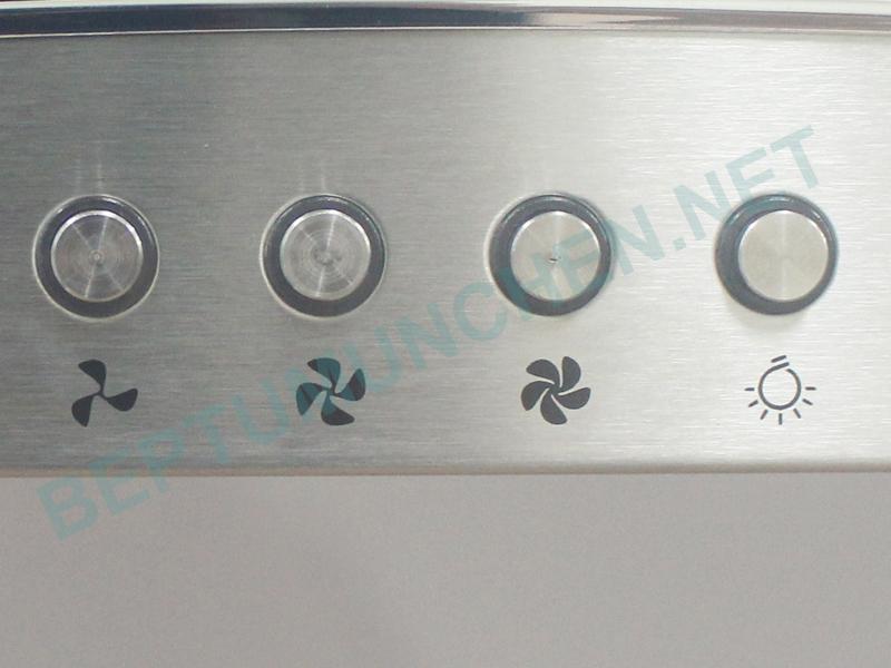 bàn phím máy hút mùi munchen amc 8122ix