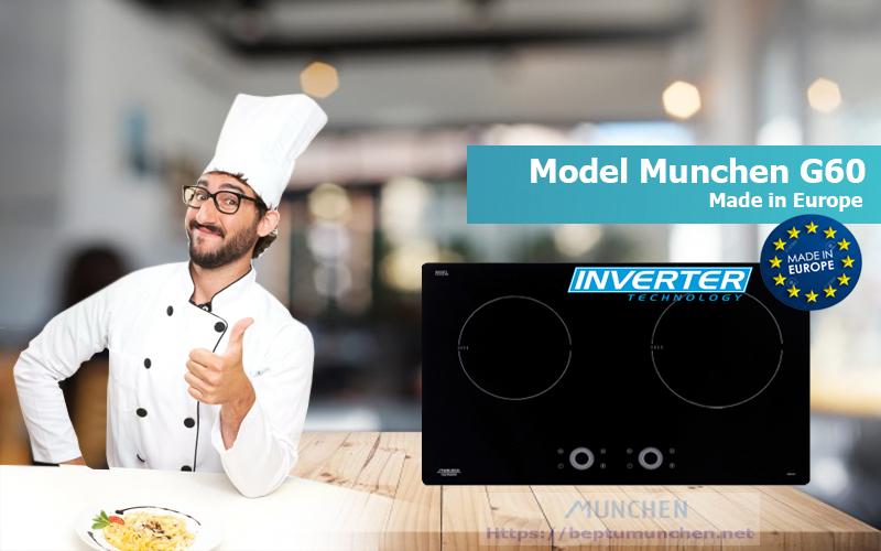 Model bếp từ munchen G60