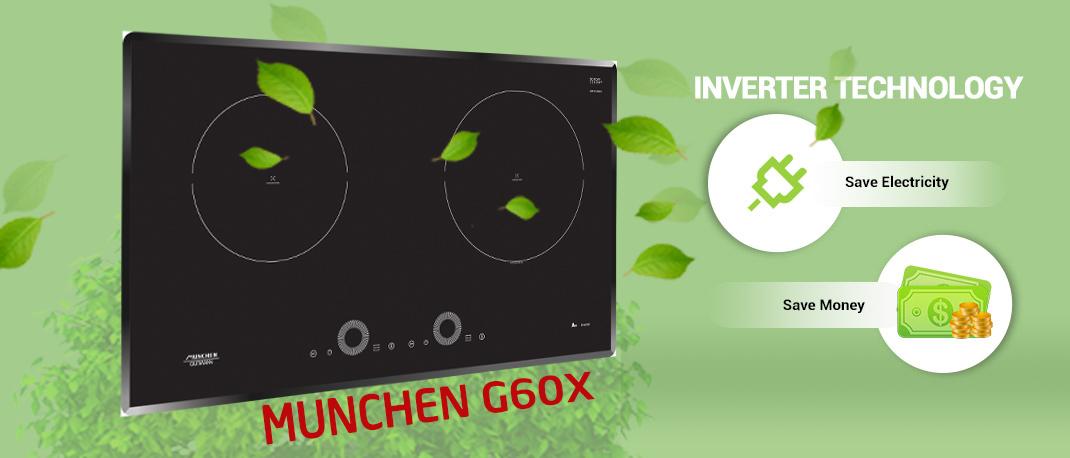 Cuối cùng bếp Munchen G 60X đã có mặt tại 39 đường Láng