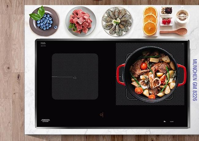 Bếp từ Munchen GM 8226 lựa chọn hoàn hảo cho mọi không gian bếp