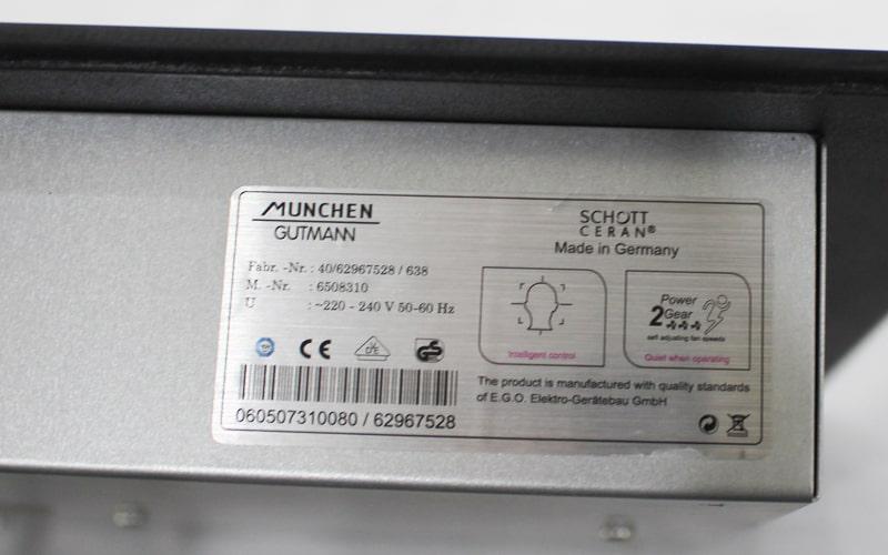 Schott ceran bếp từ Munchen GM 292