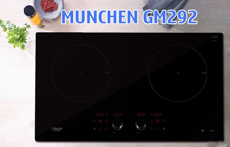 Thiết kế bếp từ Munchen Gm 292
