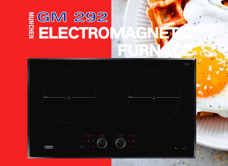 Thiết kế tuyệt vời của bếp từ Munchen GM 292