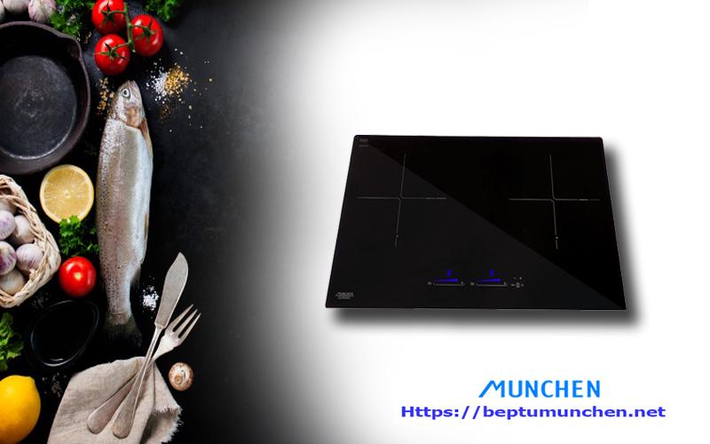 Những điểm nhấn nổi trội trên chiếc bếp từ Munchen GM 5656
