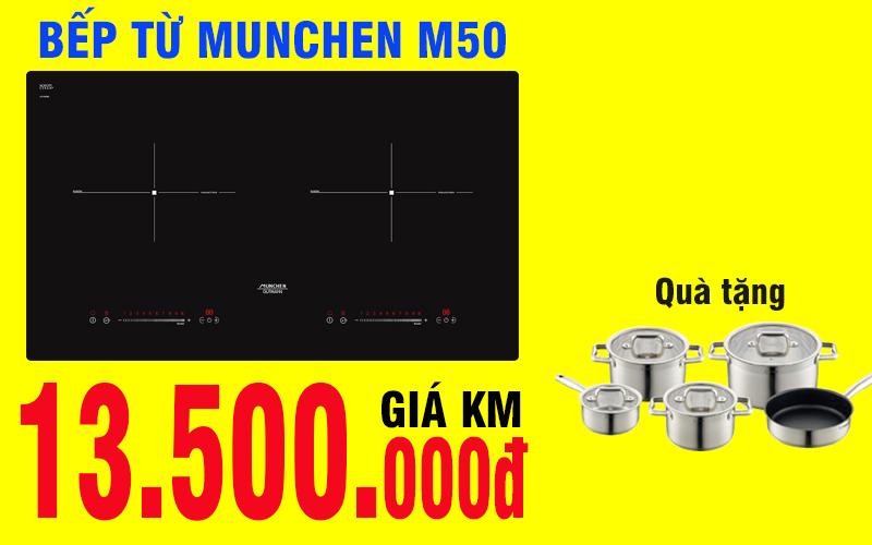 Vì sao nên chọn mua bếp từ Munchen M50 về dùng?