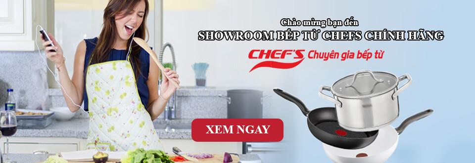 Bếp từ Chefs Việt Nam - Chất lượng tốt giá lại rẻ cho mọi nhà