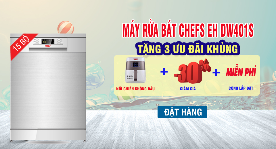 KHUYEN MAI MAY RUA BAT CHEFS