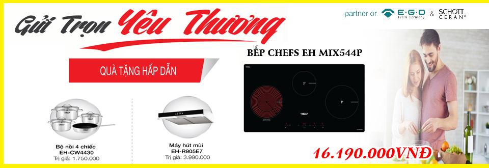 Thông tin khuyến mãi khi mua bếp điện từ Chefs EH MIX544P