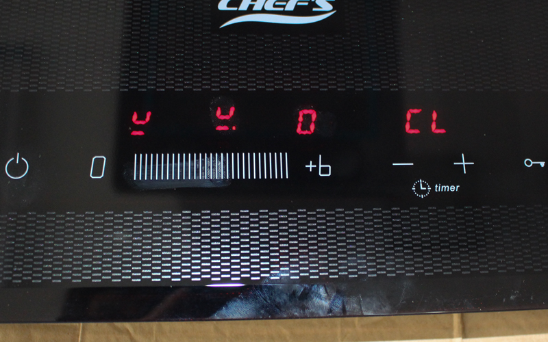 bàn phím cảm ứng bếp điện từ chefs eh mix534