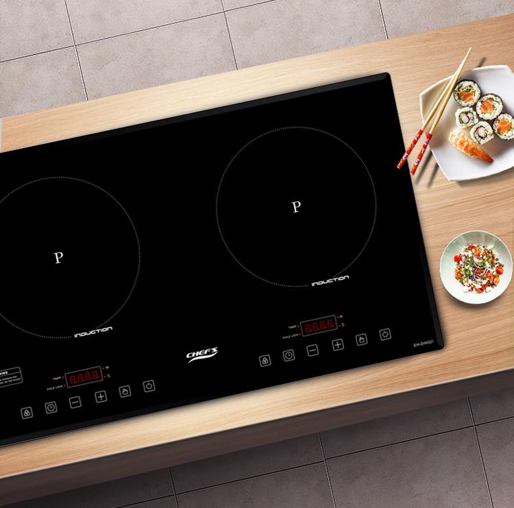Combo bếp từ Chefs EH DIH321 giá hời, chỉ 7 triệu đồng đầu năm