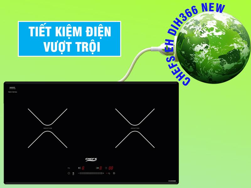 bếp từ chefs eh dih366 new tiết kiệm điện vượt trội