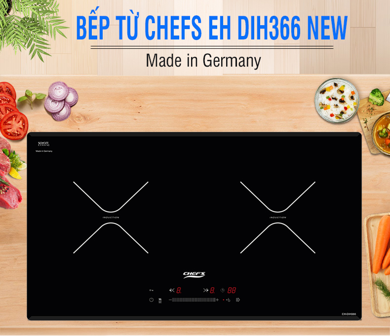 bếp từ chefs eh dih366 new