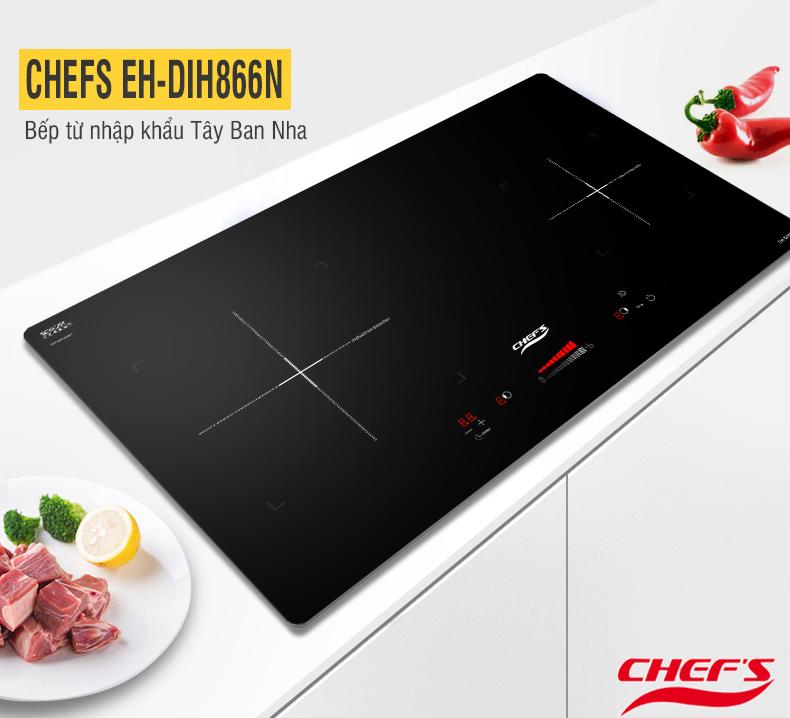Kích thước cắt đá nhỏ, chọn bếp từ Chefs nào cho phù hợp?