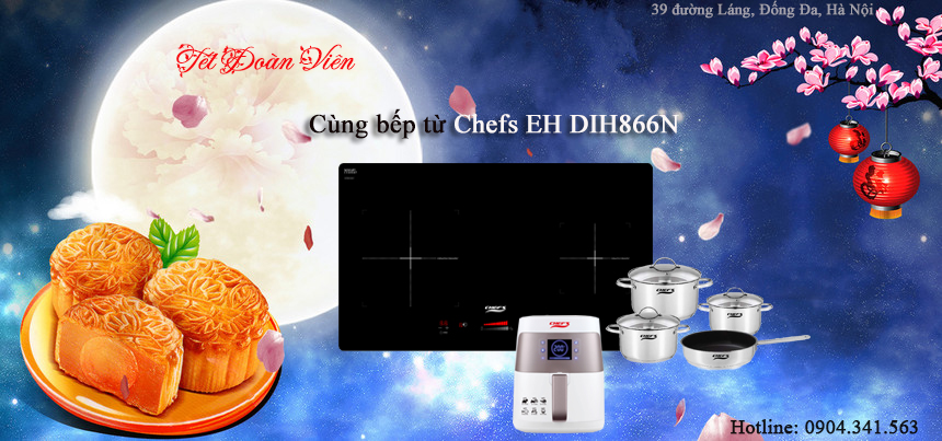 Rung rinh quà trung thu cùng bếp từ Chefs EH DIH866N