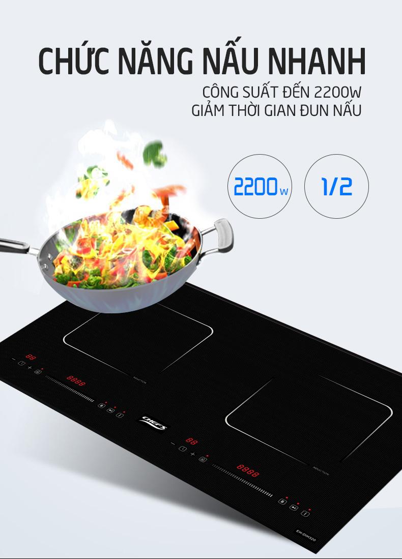Nếu bếp từ Chefs EH DIH320 được tặng hút mùi, thì sao nhỉ?