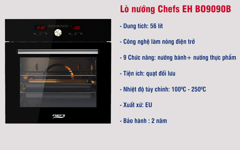lo nuong chefs eh bo9090b