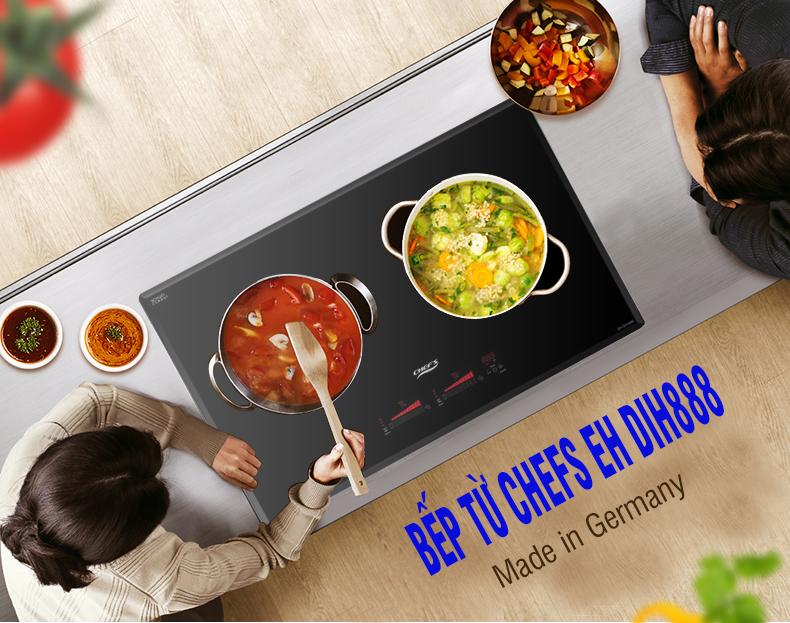 Những lý do nên mua bếp từ Chefs EH DIH888 ngay trong dịp này