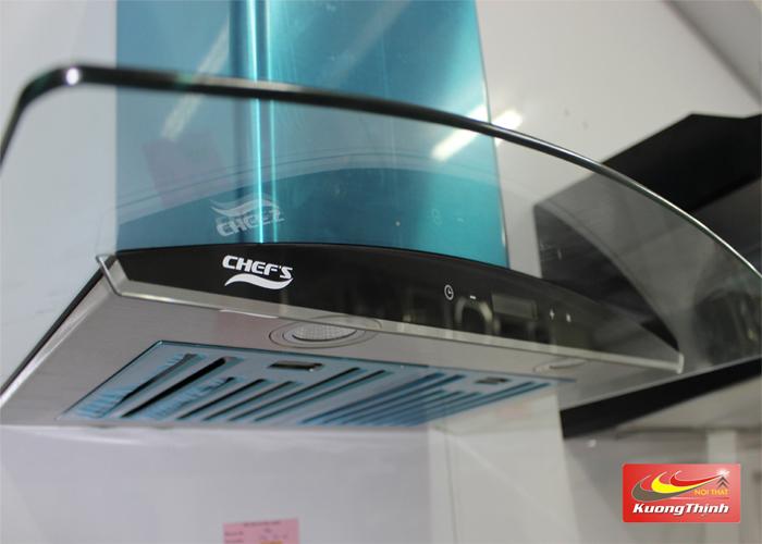 Hình ảnh thực tế của máy hút mùi Chefs EH R501E7