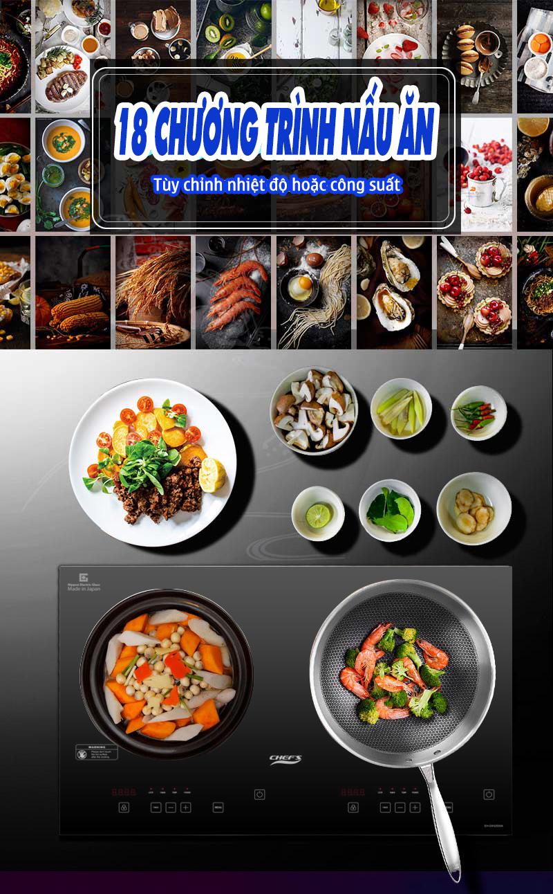 Có 5 triệu có nên mua bếp Chefs DIH2000A, mua thì được những gì?