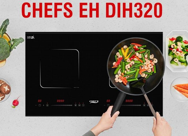 Chia sẻ lý do vì sao nên mua bếp từ Chefs EH DIH320