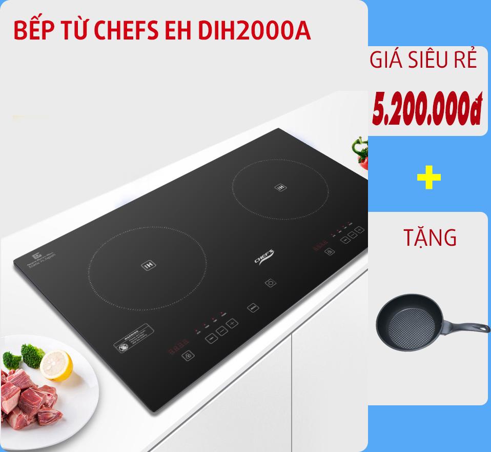 ưu đãi mùa dịch bếp từ chefs