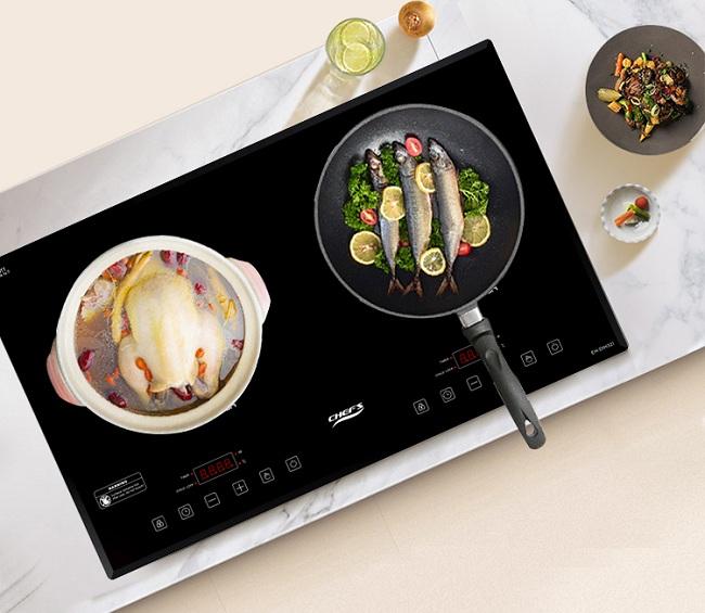 Bếp từ Chefs EH DIH321 sự lựa chọn thông minh cho mức giá rẻ