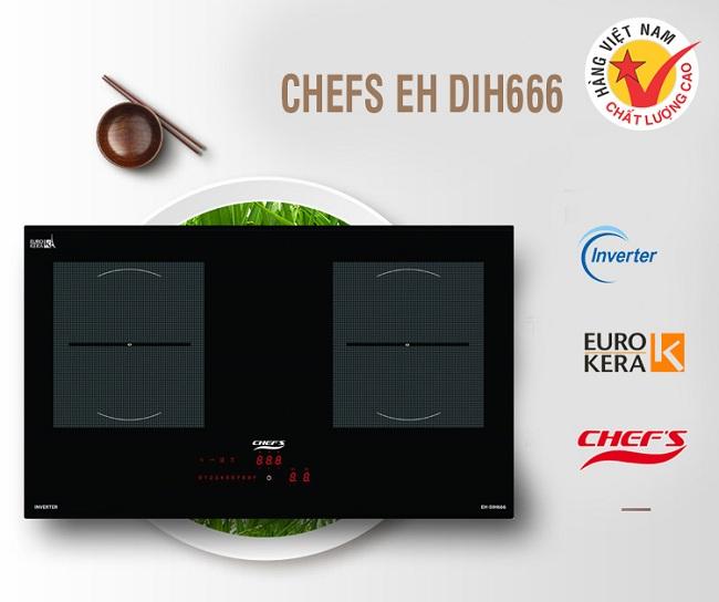 Bếp từ Chefs EH DIH666 lựa chọn đúng đắn trong phân khúc 10 triệu