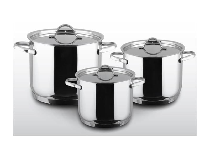 Bộ nồi 3 chiếc Chefs Inox 304