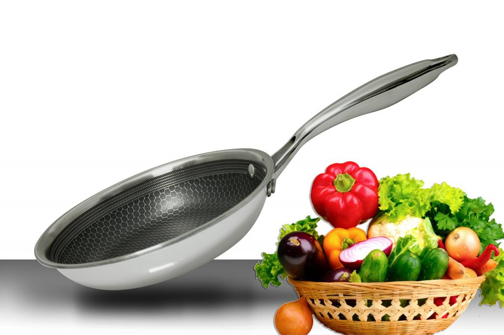 Chảo từ Chefs 3 lớp EH FRY260