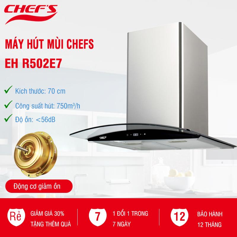 máy hút mùi chefs eh r502e7