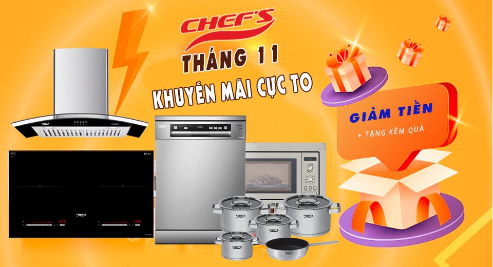 Hết giãn cách, giá bếp từ Chefs thay đổi như thế nào?