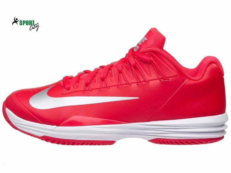 the latest 9e16c f9679 Giấy tennis Nike Lunar Ballistec 1.5 RedSilver Mens Shoe