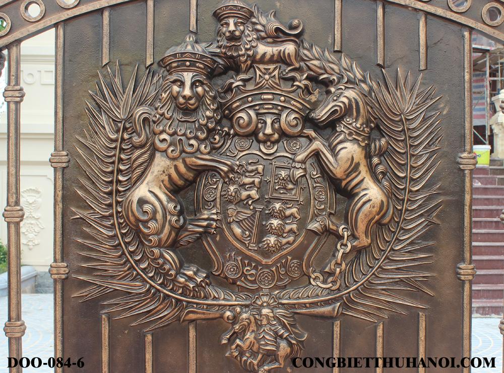 cổng đồng đúc đẹp