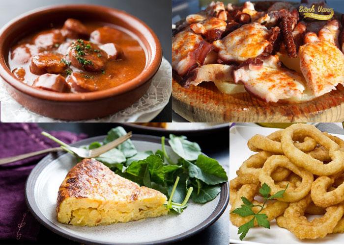5 món Tapas bạn không nên bỏ lỡ khi đến tham quan Tây Ban Nha