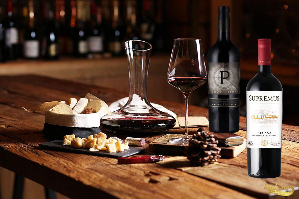 Cách thưởng thức rượu vang đúng điệu
