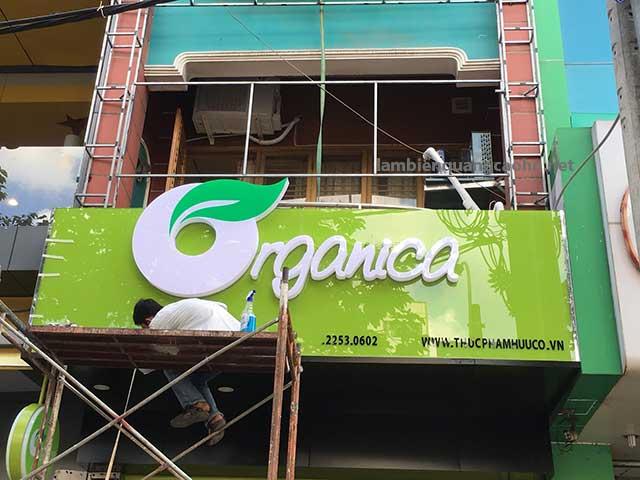 Biển chữ nổi, làm biển quảng cáo, làm biển công ty, làm biển cửa hàng, làm biển quảng cáo tại Hà Nội