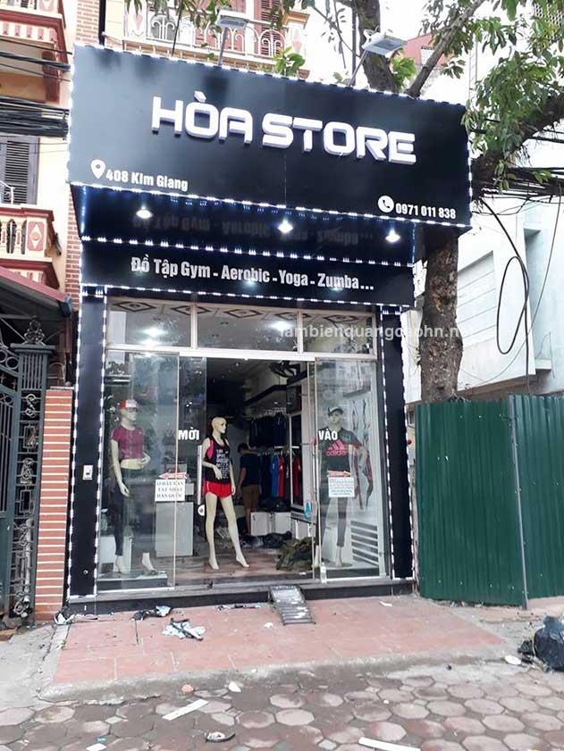 Tại sao 90% cửa hàng thời trang lại làm biển chữ nổi mica LED?