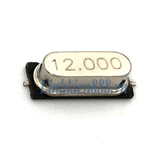 Thạch anh 12Mhz 49S SMD