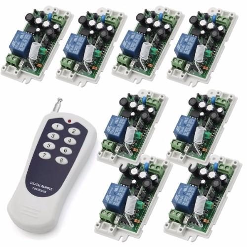 Công tắc điều khiển từ xa cho 8 thiết bị độc lập