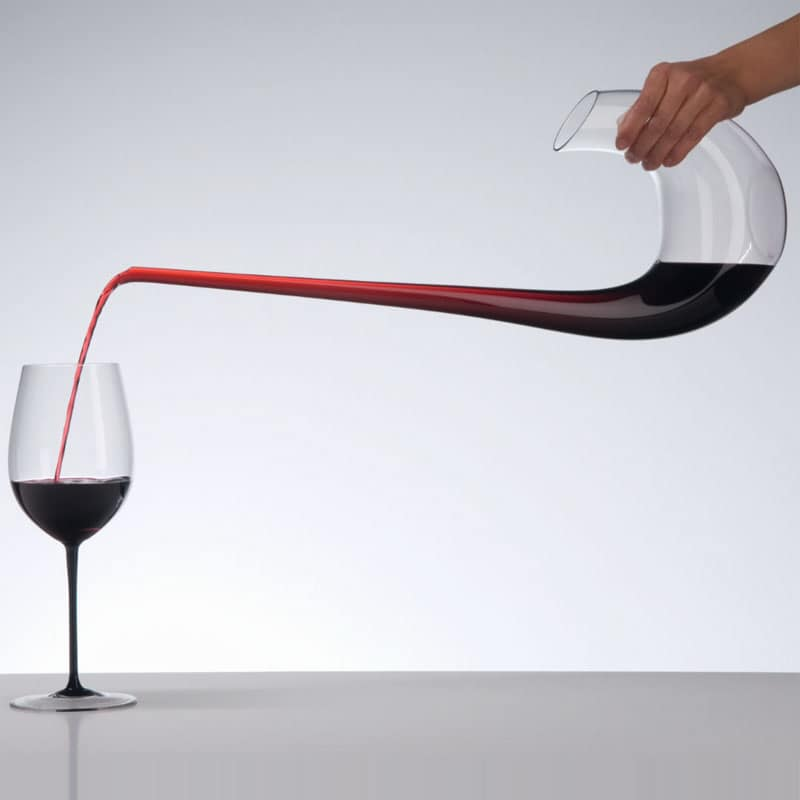 Bình dựng rượu handmade Riedel Swan Decanter - made in Australia
