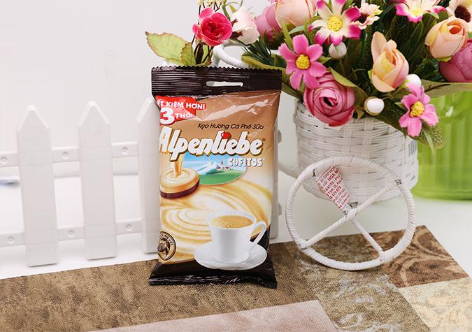 Kẹo hương cà phê sữa Cofitos Alpenliebe gói 90g