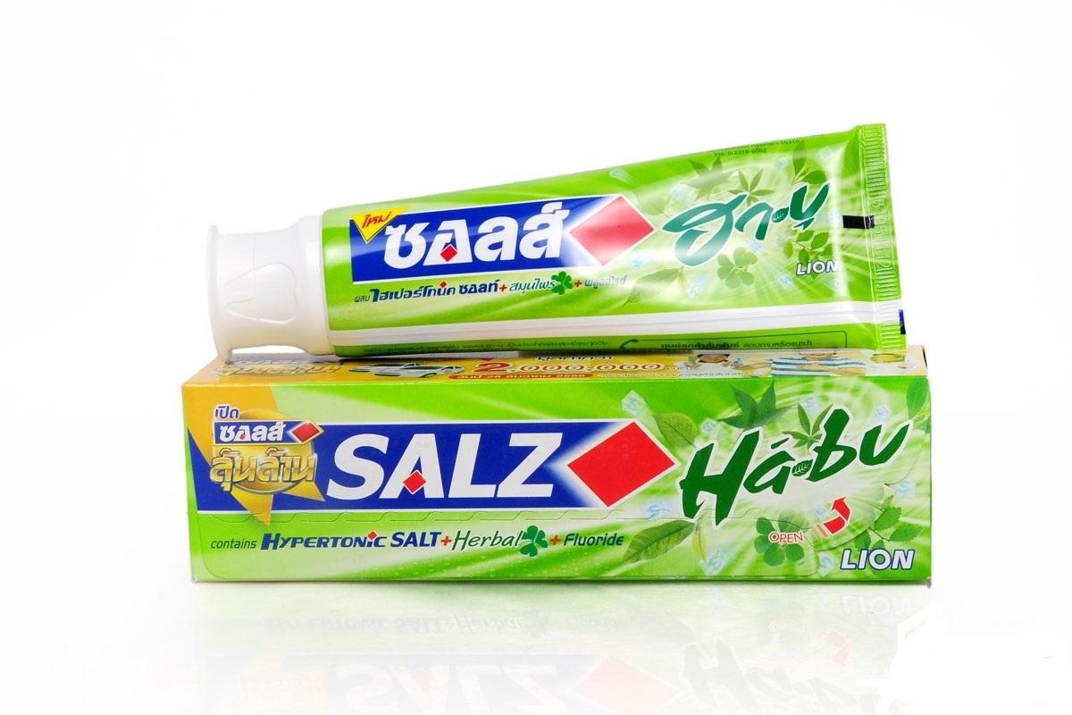 Kem đánh răng SALZ Herbal bạc hà 160g