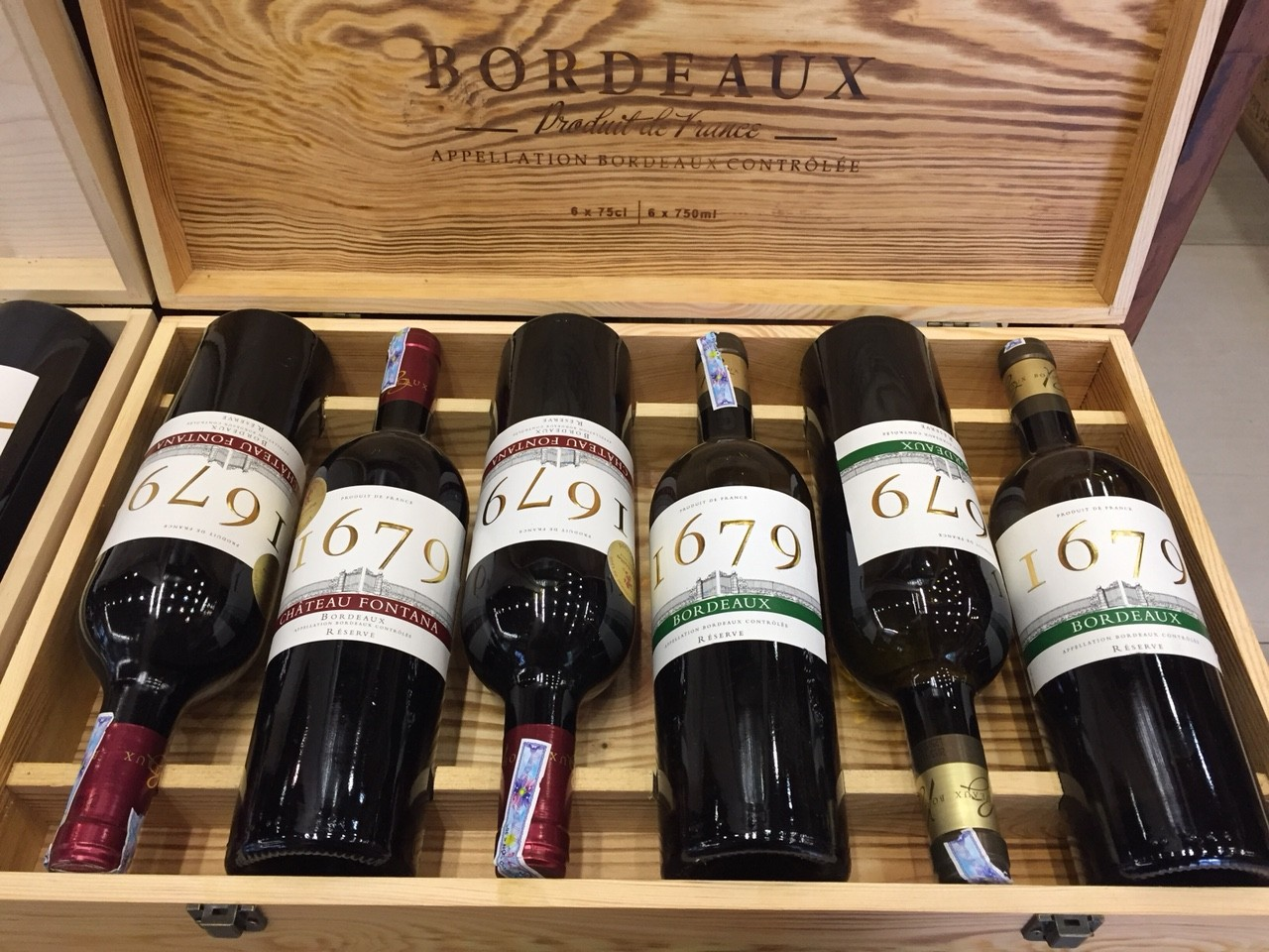 Rượu vang Pháp Bordeaux I679